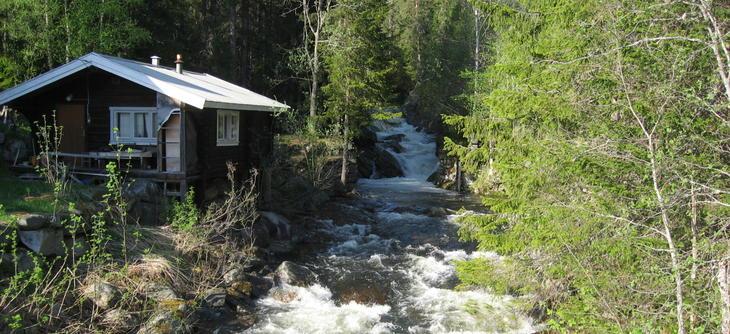 Gjuvåa near Tuddal town centre