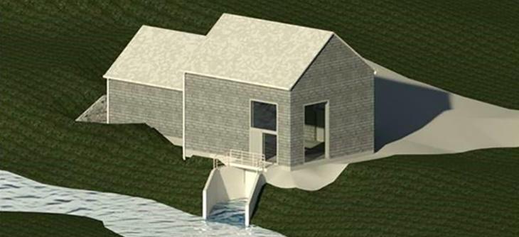 Illustrasjon av Ala kraftverk