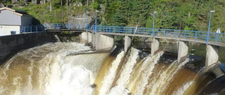 Dam Langfos - Kragerøvassdraget