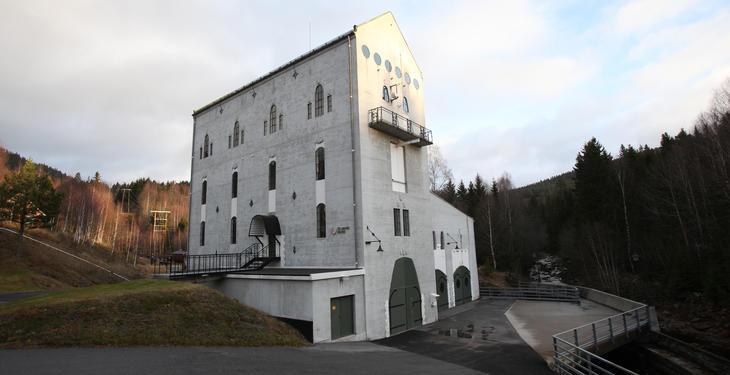 Hogstad kraftverk i Siljan