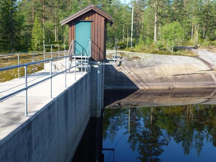 Sporevann dam