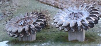 Hjartdøla Kraftverk, Turbiner