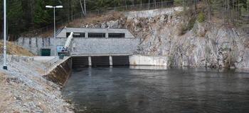 Inntak Svelgfoss kraftverk