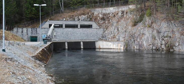 Svelgfoss Power Plant intake